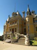 Massandra Palace in Yalta, Crimea. Massandra Palace in Yalta on sunny day Stock Images