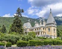 Massandra slott, Massandra, Yalta, Krim, Gurzuf royaltyfria bilder