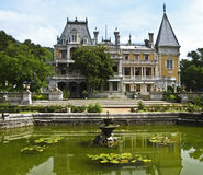 Massandrovskiy palace, Crimea Stock Photos