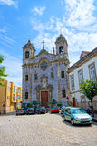 Massarelos church Royalty Free Stock Photos