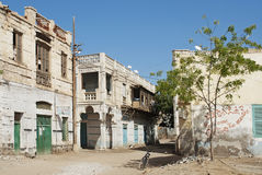 Massawa alte Stadt in Eritrea Stockfotos