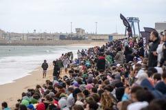 Masse auf dem Strand Lizenzfreies Stockfoto