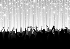 Masse auf der Party Lizenzfreie Stockfotos