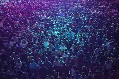 Masse der Leute Stockbilder