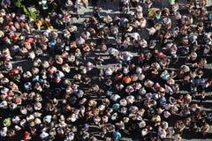 Masse der Leute Stockfotografie