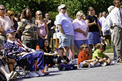 Masse der Leute während Erinnerung 9 11 Lizenzfreie Stockbilder