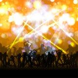 Masse der Party-Leute Lizenzfreie Stockfotos