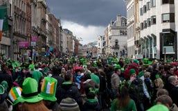 Masse in Dublin Tag am Str.-Patricks Lizenzfreies Stockbild