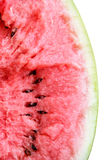 Masse einer defekten Wassermelone Lizenzfreies Stockfoto