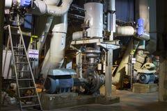 Masse-und-Papiermühle in Europa Stockbild