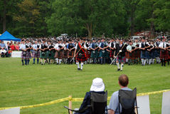 Massed Bands Royalty Free Stock Image