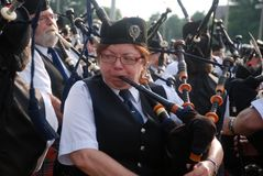 Massed Bands Stock Photography