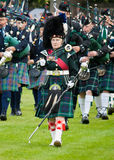 Massed Pipe Band Royalty Free Stock Photo