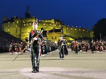 Royal Edinburgh Military Tattoo Royalty Free Stock Images