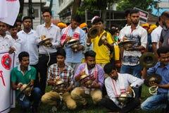 Massen-Satyagraha-Protest Lizenzfreie Stockfotografie