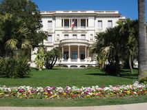 Massena museum in Nice. French Riviera : Massena museum in Nice royalty free stock photography