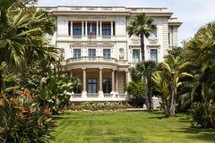 Massena museum, Nice, Frankrike Arkivbild