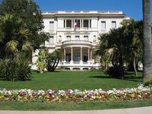 Massena Museum in Nizza Lizenzfreie Stockfotografie