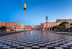 Massena Place in the Morning, Nice Royalty Free Stock Photography