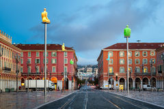 Massena Place in the Morning, Nice Stock Photography