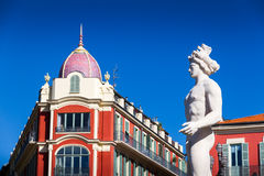 Massena place in Nice Royalty Free Stock Photography