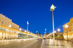 Massena Place Square, Nice France Stock Photo