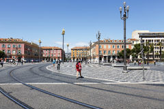 Massena Square, main square of Nice Royalty Free Stock Image