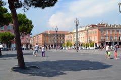 Massena Square Nice (France) stock photo