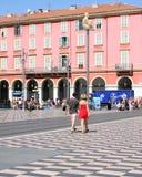 Massenavierkant in Nice Frankrijk Royalty-vrije Stock Afbeelding