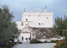 Masseria Torre Coccaro kurort w Puglia, Włochy Fotografia Stock