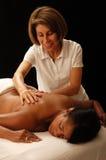 masseuse клиента стоковое изображение