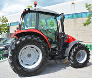 Massey Ferguson. SAINT HYACINTHE QC CANADA JULY 25 2015: Massey Ferguson Limited is a major agricultural equipment manufacturer that was based in Brantford Royalty Free Stock Images