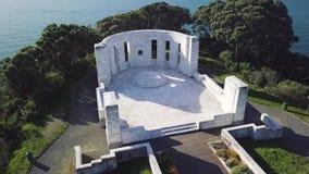 Massey pomnik, Powietrzna niecka 4k zdjęcie wideo