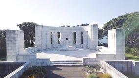Massey pomnik, Powietrzny Ciągnie Z powrotem 4k zdjęcie wideo