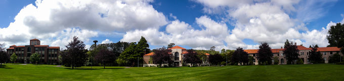Massey University in Palmerston North NZ Panorama Royalty Free Stock Image
