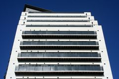 Masshouse Apartments in Birmingham Stock Photography