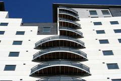 Masshouse Apartments in Birmingham Stock Photos