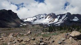 Massi & montagne in bianco e nero Fotografia Stock Libera da Diritti