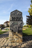 Massi Park in Werdau, Germany, 2015 Royalty Free Stock Photos