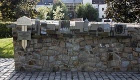 Massi Park in Werdau, Germany, 2015 Stock Image