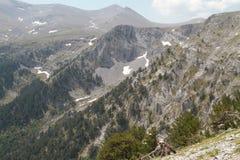 Massiccio delle colline in Olympus, Grecia Fotografia Stock
