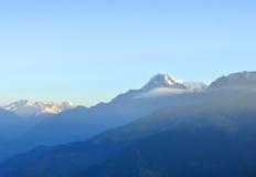 Massiccio di Annapurna. Il Nepal. Immagine Stock Libera da Diritti