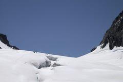 Massiccio di Mont Blanc Immagini Stock Libere da Diritti