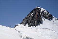 Massiccio di Mont Blanc Immagine Stock