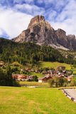 Massiccio Sassongher, Dolomites Stock Photos