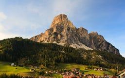 Massiccio Sassongher, Dolomites Stock Images