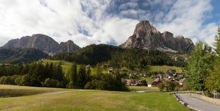Massiccio Sassongher, Dolomites Stock Photo