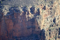 Massief Grand Canyon Rocky Cliff Royalty-vrije Stock Afbeelding