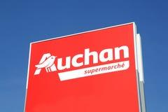 Auchan supermarket logo