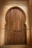 Massieve houten deur royalty-vrije stock fotografie